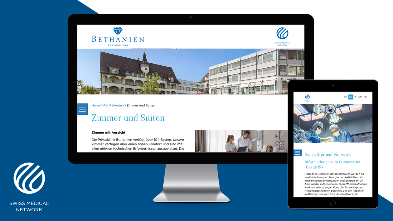 Website Swiss Medical Network